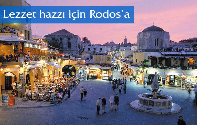 Lezzet hazzı için Rodos'a