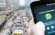 Trafik ihlallerinde Whatsapp'tan şikayet dönemi