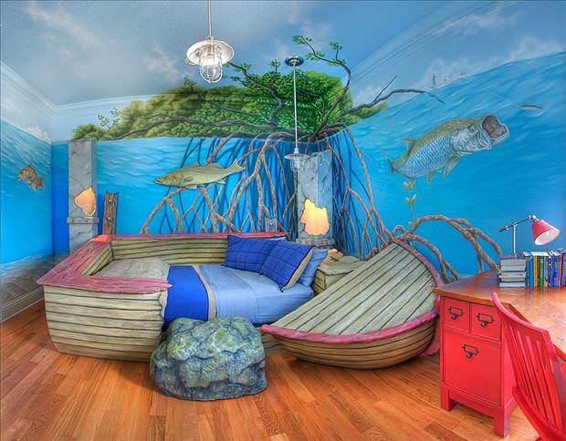 Muhteşem çocuk odaları