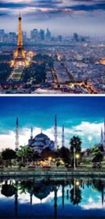 Dünyanın en güzel 25 şehri