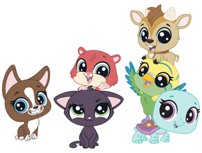 Minika Go Littlest Pet Shop Minişler