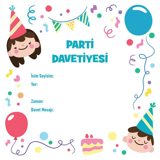 Parti Davetiyesi 5
