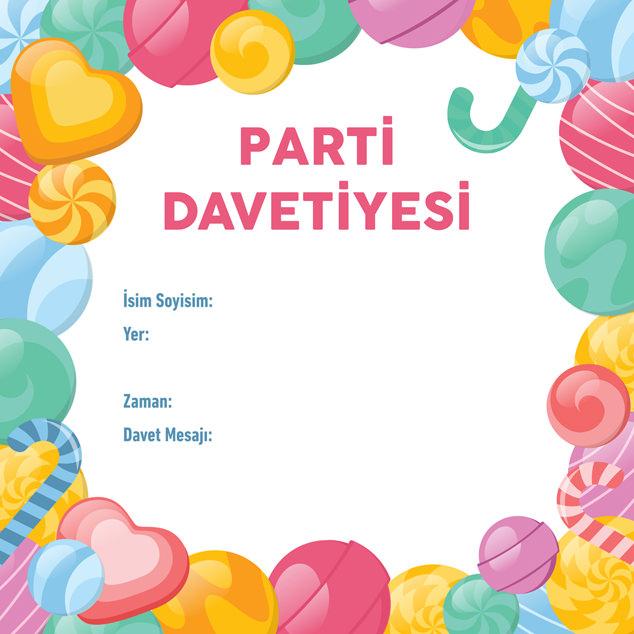 Parti Davetiyesi 6