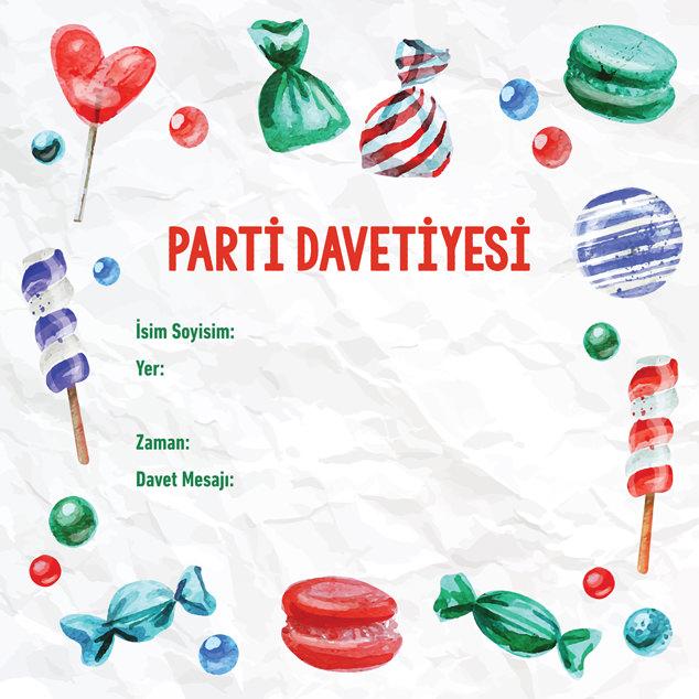 Parti Davetiyesi 7