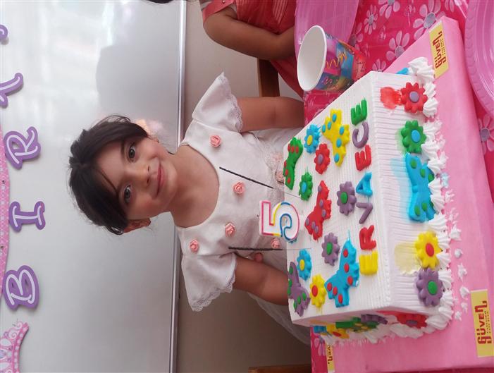 Doğum günün kutlu olsun Erva Ece