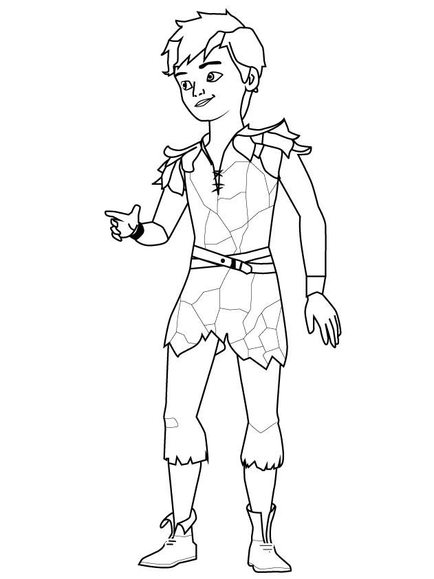Peter Pan ı Boya Yazdır Minika Oyun