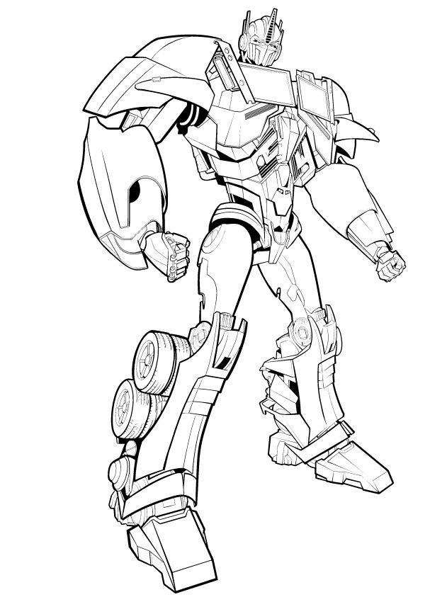 Optimus Prime ı Boya Yazdır Minika Oyun