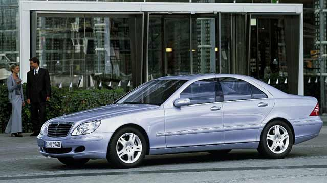 mercedes-benz - s-class (w220) - s 500 4matic (306 hp)