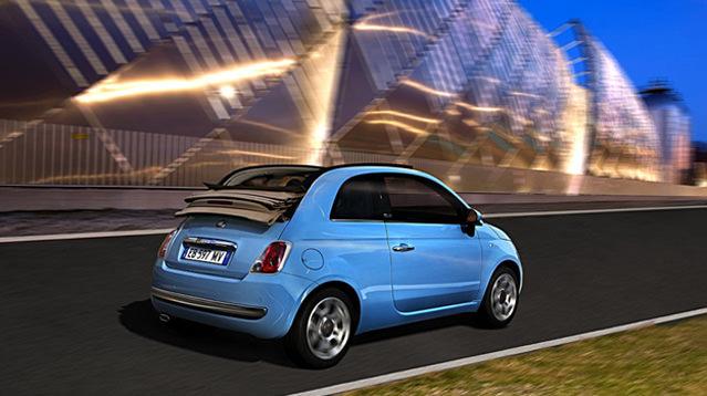 Üstsüz Fiat 500 Türkiye'de