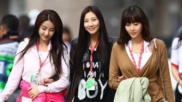корейские девушки
