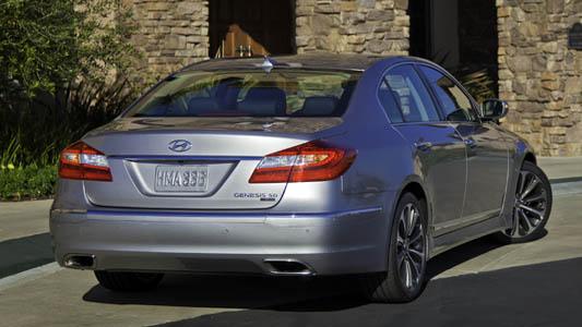 Hyundai Genesis Güçlenip Makyajlandı+GALERİ