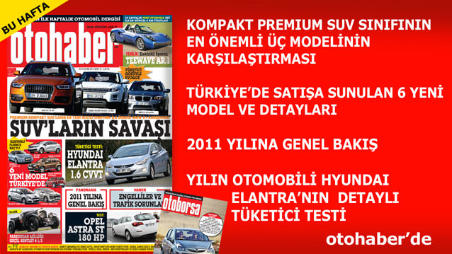 Otohaber 1'inci Hafta+POSTER TAKVİM HEDİYELİ!