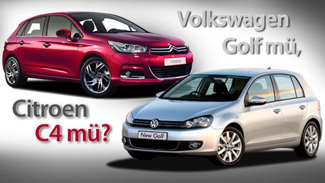 Volkswagen Golf mü, Citroen C4 mü?