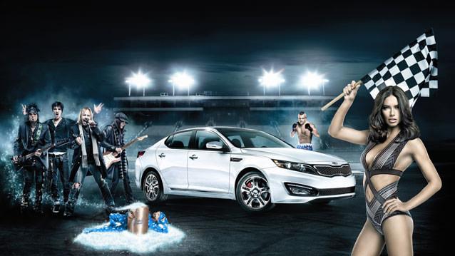 Optima Reklamında Adriana Lima Rüzgarı