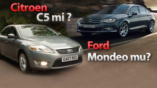 Citroen C5 2.0 HDI m�, Ford Mondeo 2.0 TDCI Ghia m�?