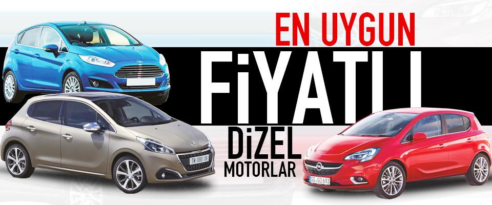 T�rkiye�nin En D���k Fiyatl� Dizel Otomobilleri