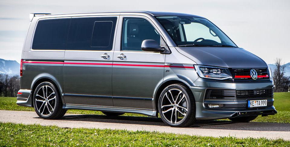 VW Transporter�a ABT Dokunu�u