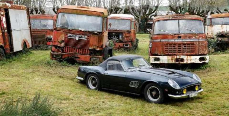 �iftlikte Bulunan Ferrari 46 Milyon TL�ye Al�c� Buldu