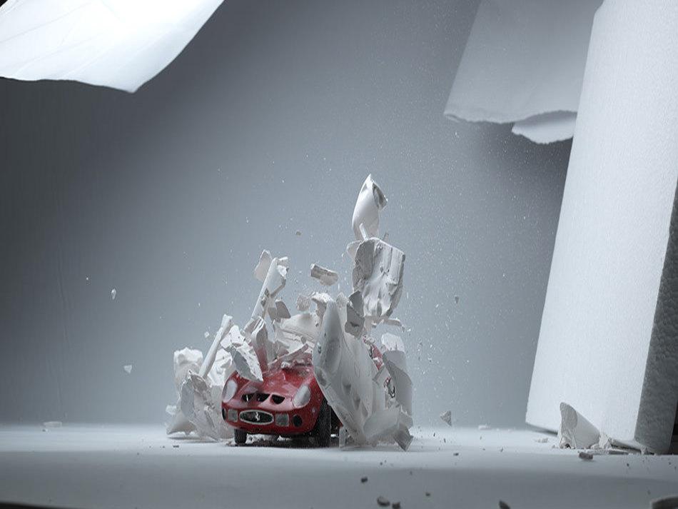 Patlayan Otomobillerin Muhte�em G�r�nt�s�