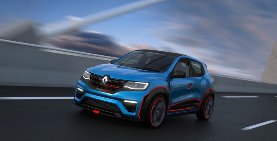 Renault KWID Racer ve Climber Konsepti Tan�t�ld�