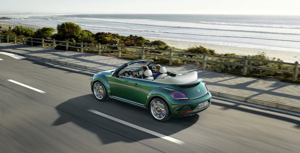 Makyajl� VW Beetle'�n Detaylar� Ortaya ��kt�