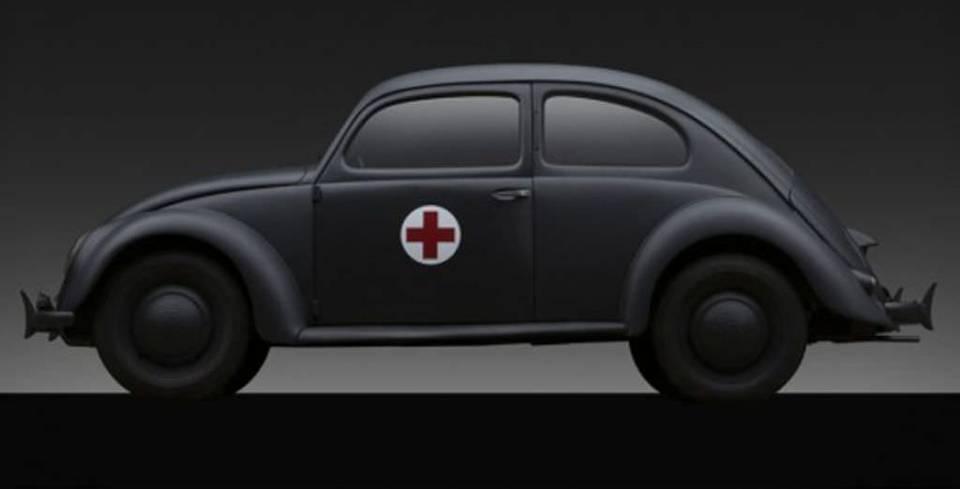 Nazi D�neminden Kalma Vosvos A��k Artt�rmada