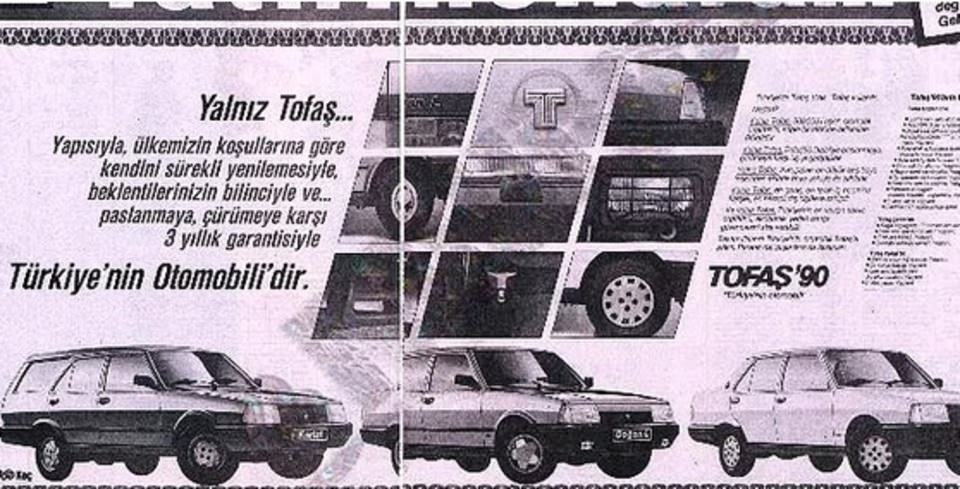 Unutulmayan Tofa� Reklamlar�