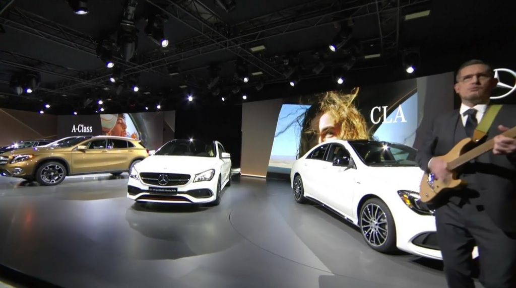 2017 Mercedes-Benz GLA ortaya çıktı
