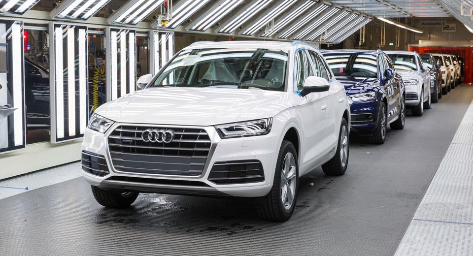 Audi, Kuzey Amerika'daki ilk fabrikasını açtı