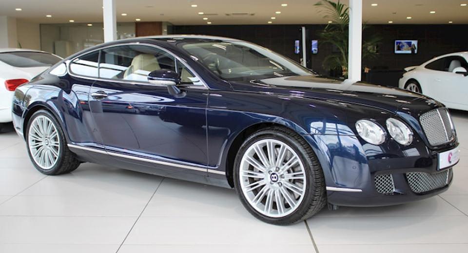 Cristiano Ronaldo'nun Bentley'i satışta