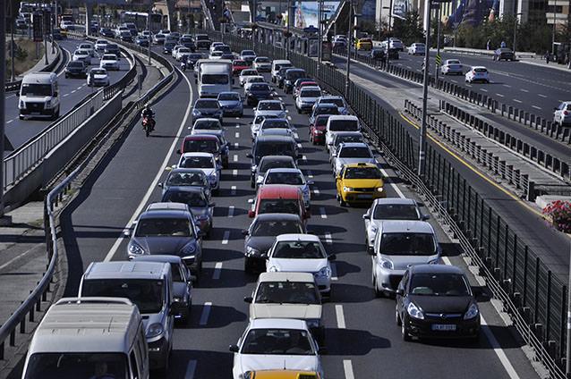 En çok otomobil hangi şehirde bulunuyor?