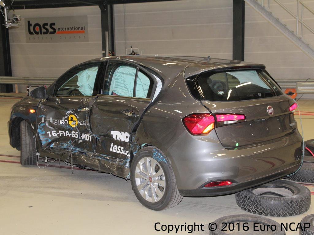 Fiat Egea'nın güvenlik notu belli oldu (Euro NCAP)