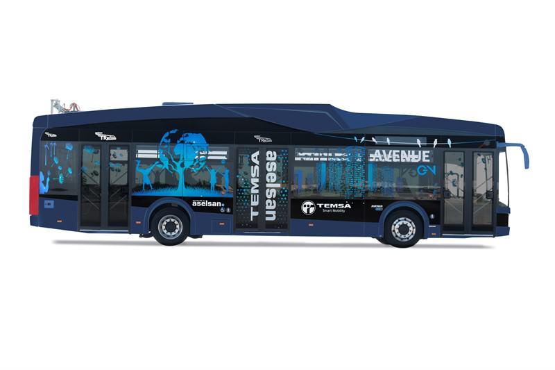 İlk yüzde 100 milli elektrikli otobüs : Avenue EV