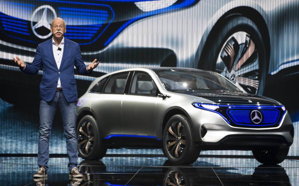 İşte Mercedesin elektrikli SUV konsepti: Generation EQ