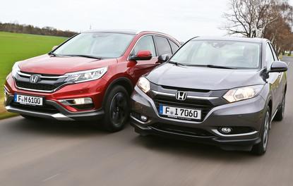 Karşılaştırma · Honda CR-V – HR-V