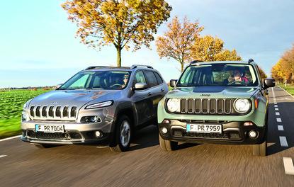 Karşılaştırma · Jeep Cherokee – Renegade
