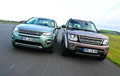 Karşılaştırma · Land Rover Discovery – Discovery Sport