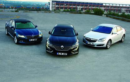 KARŞILAŞTIRMA · Opel Insignia, Renault Talisman, Skoda Superb