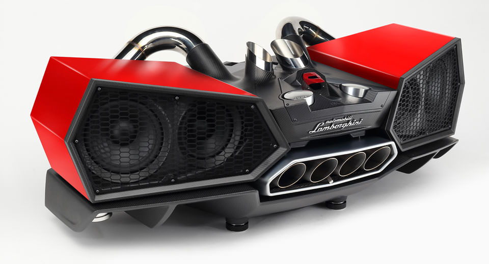 Lamborghini Esavox (ses sistemi)