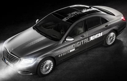 Mercedes'in yeni akıllı aydınlatma sistemi