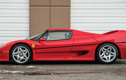 Mike Tyson'ın Ferrari'si satılıyor