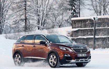 Sürüş İzlenimi· Peugeot 3008 Kış Sürüşü