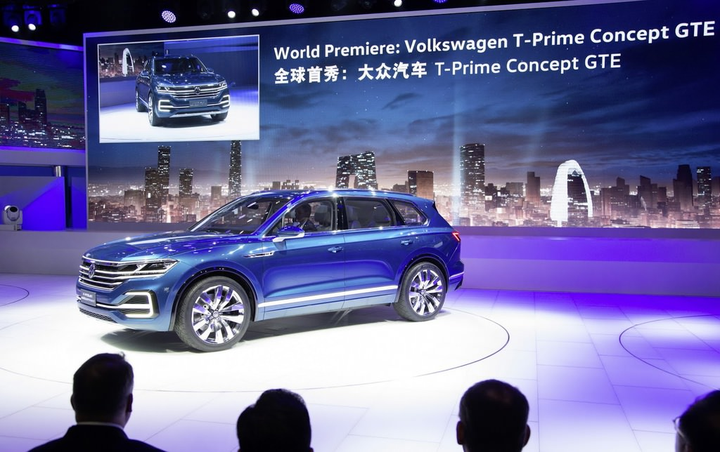 VW'nin elektrikli SUV konsepti Şangay'da tanıtılacak