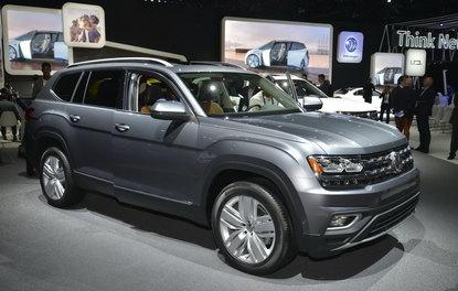 VW'nişn 7 kişilik SUV'u Los Angeles'ta sergileniyor