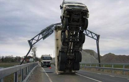 Yok artık dedirten kazalar