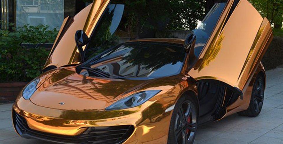 1 Milyon 650 Bin TL�ye Alt�n Kapl� McLaren