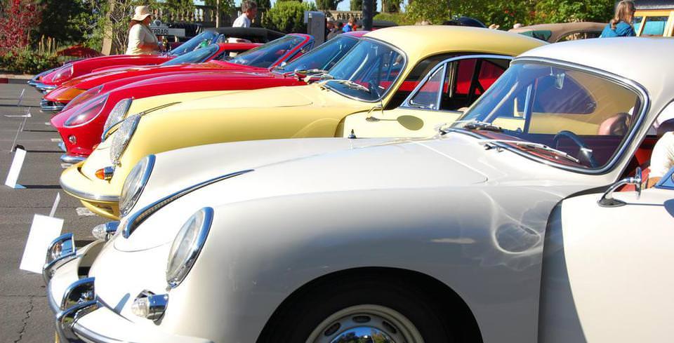 Beverly Hills�te Klasik Otomobil �ovu