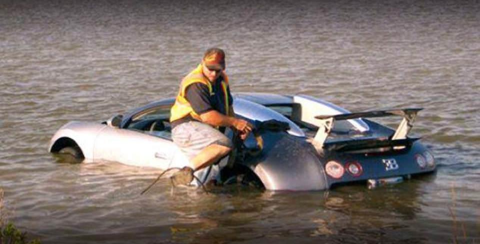 Bugatti Veyron ile G�le Girdi 20 Y�l Hapisle Kar�� Kar��ya