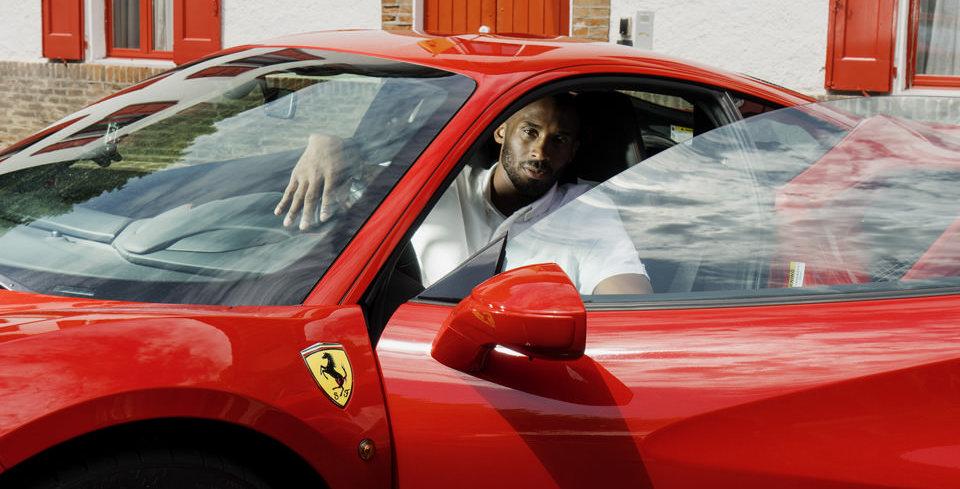 Kobe Bryant ile Ferrari Bulu�mas�