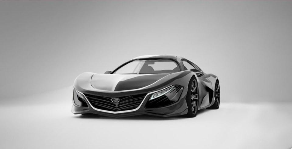 Mazda RX9 B�yle Mi Olacak?